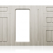 Front MDF COLONIAL